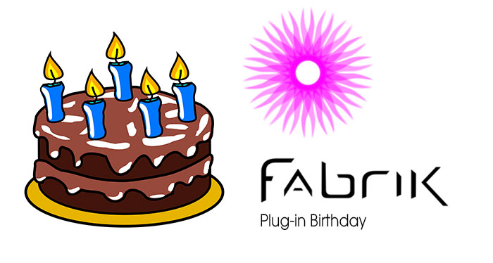fabrik plug in Birthday